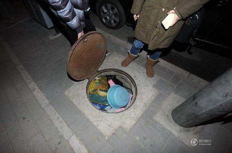 China's Underground Dwellers Find Their Homes Cemented Shut