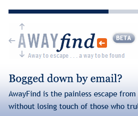 AwayFind Gets Urgent Email Through When You're Offline