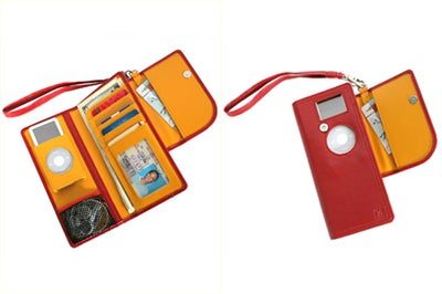 Pacific Design iPod Nano Uptown Clutch Wallet