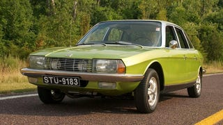 This NSU Ro 80 Is A Lime Green Rotary Powered Dream Machine