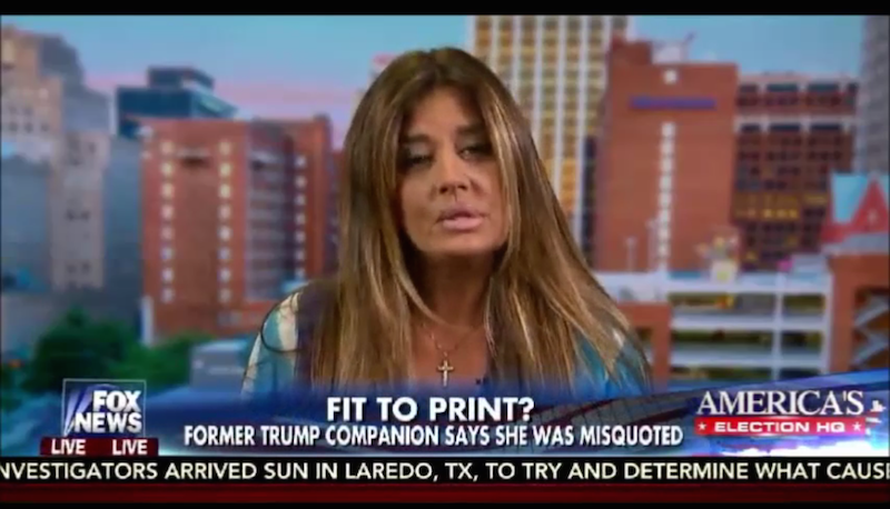Donald Trump's Ex-Girlfriend Says the Times Got it Wrong--She Actually Enjoyed Being Demeaned By Him
