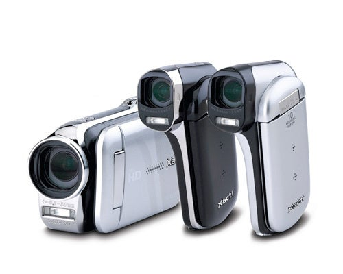 Sanyo Gifts New Double-Range Zoom On GH2 and CG102 Xacti Camcorders