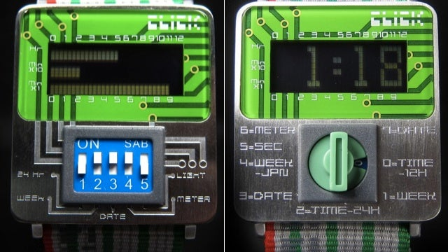 Wear Your Geekiness on Your Wrist with These Circuit Board Watches