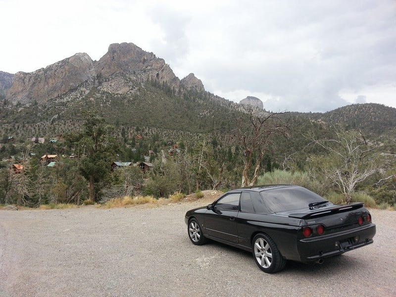 Canyon carving and autocross with R32 Skyline in Las Vegas. Review?