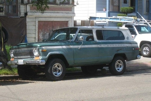 1975 Jeep Cherokee Down On The Alameda Street