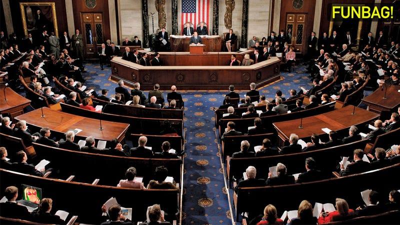 Jerking Off In Congress: A Bipartisan Debate