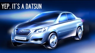 Russia, Meet The New Datsun ... Errr, Something