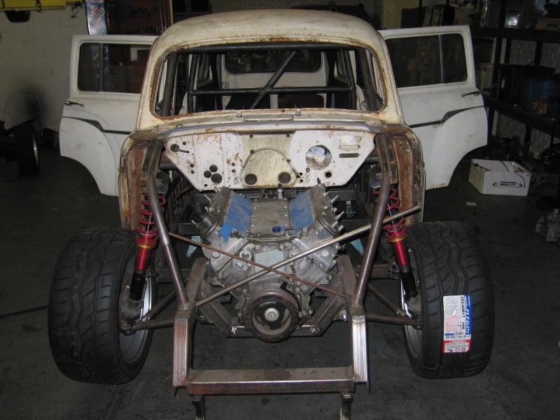 Triumph 10 Project Wagon Swaps In Corvette Engine