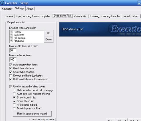 Executor Is Impressive, Full-Featured App Launcher