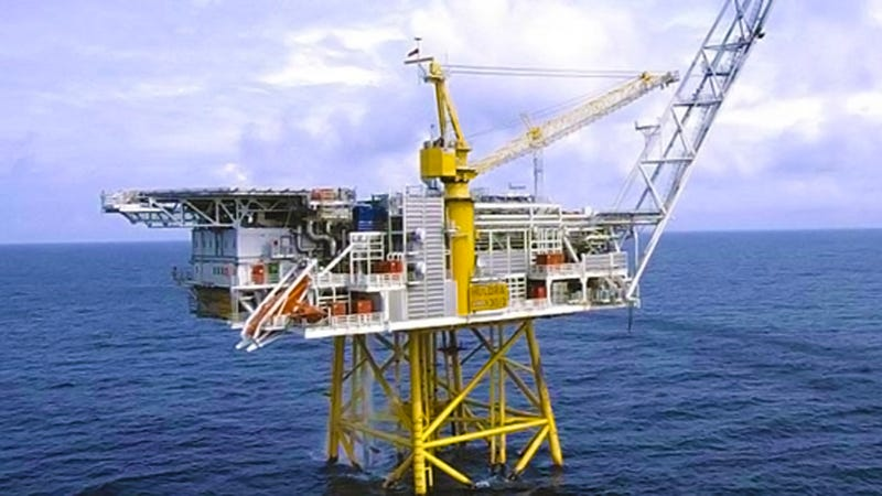 Your Ultimate Ocean View Dreamhouse Happens To Be An Oil Platform