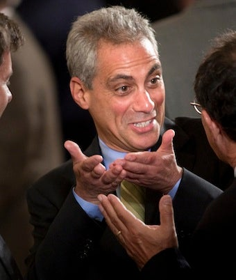 Rahm Emanuel Probably Leaving White House This Week