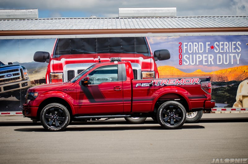 How A NASCAR Pro Almost Made Me Hurl In A Ford F-150 Tremor