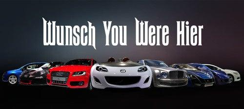 2009 Frankfurt Motor Show: Postkarte From Day Zwei!
