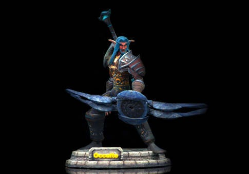 Make Your World of Warcraft Character Into an Action Figurine