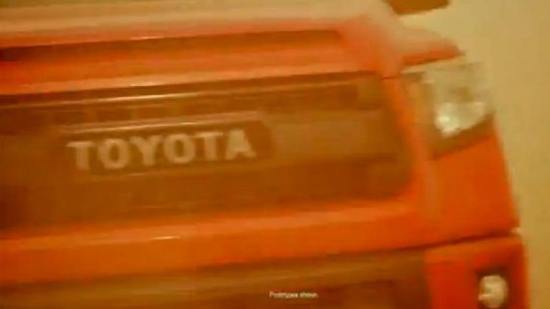 Toyota 'TRD Pro' Truck Could Be A Furious Orange Raptor Fighter