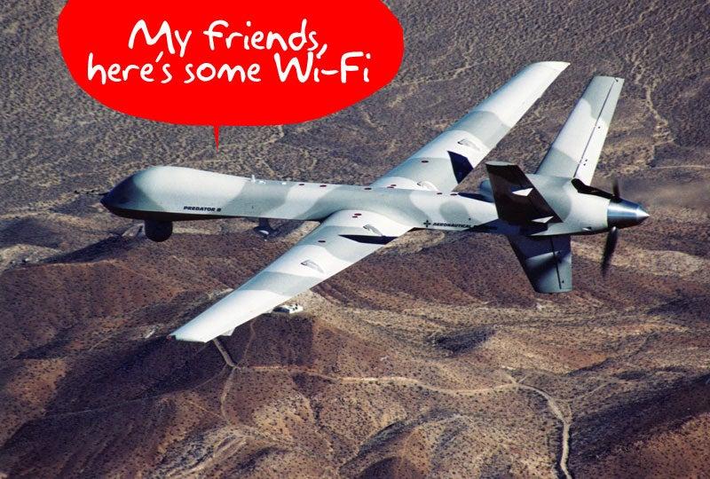 McCain Wants Predators to Provide Wi-Fi for Iranians