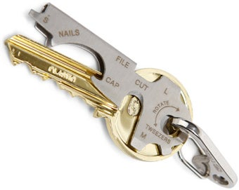 Keychain Multi-tool Is Eight Handy, Pocketable Tools in One