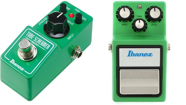 The New Mini Versions of These Classic Guitar Pedals Are Adorable