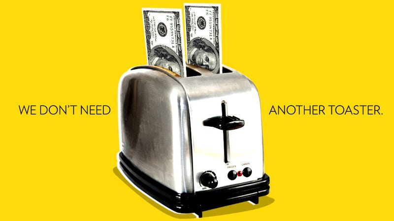 Newlyweds Don't Want Your Stupid Presents. They Want Cold, Hard Cash.