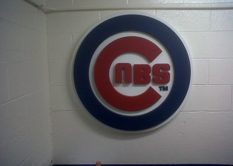 Cubs Have Upside Down Logo At Wrigley, Possibly As Some Sort Of Distress Signal