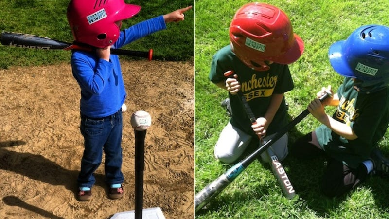 The Official Deadspin Youth T-Ball League Called Its Own Shots, Staged A Staring Contest