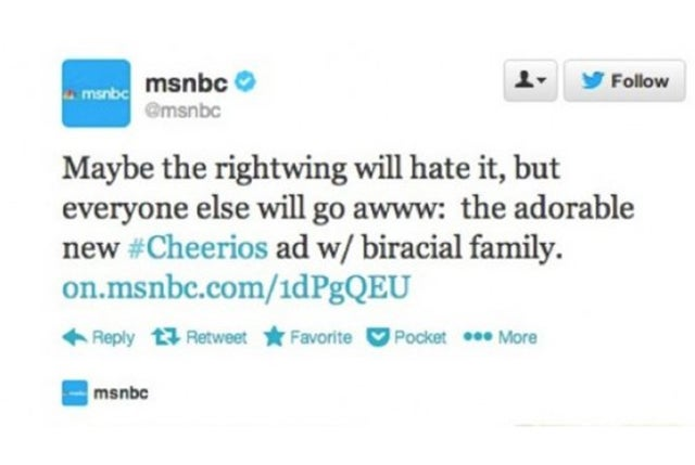 MSNBC Apologizes to Right-Wingers, Fires Tweeter Who Pissed Them Off