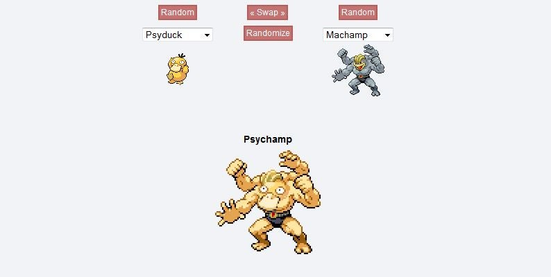 How The Website That Lets You Create Frankenstein Pokémon Came To Be