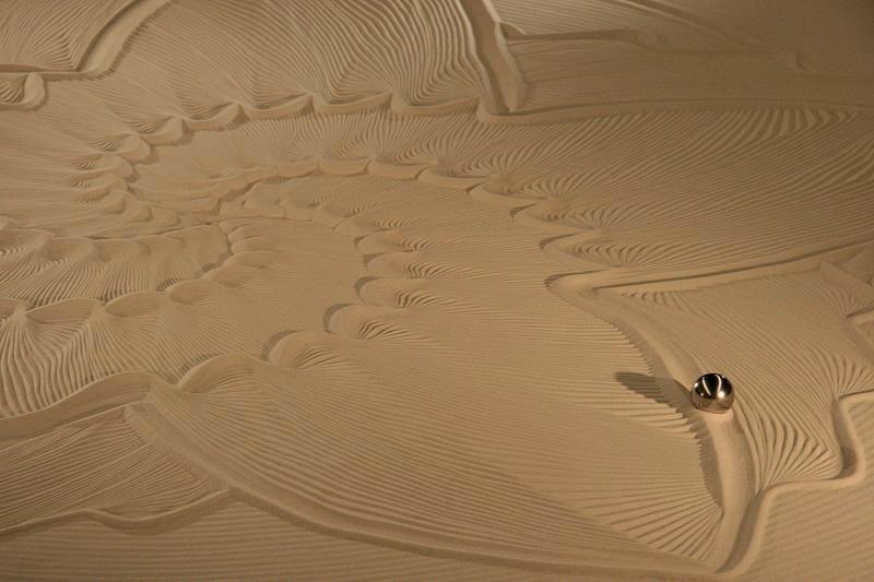 Sisyphus V: A Robot Making a Zen Garden
