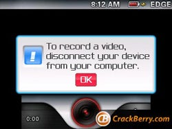 Video Recording Coming Soon To a BlackBerry Near You