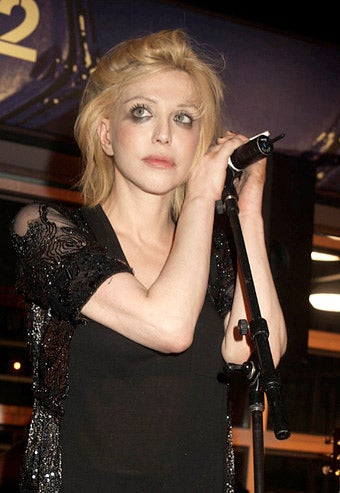 Courtney Love Finds a New Child to Terrorize Now that Her Daughter Has a Restraining Order