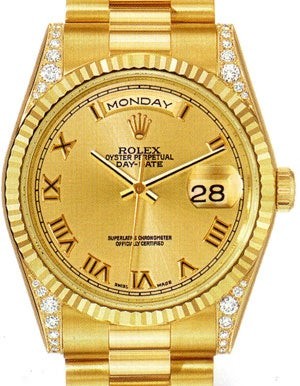 All Of You Owe Me A Gold, Bedazzled Watch