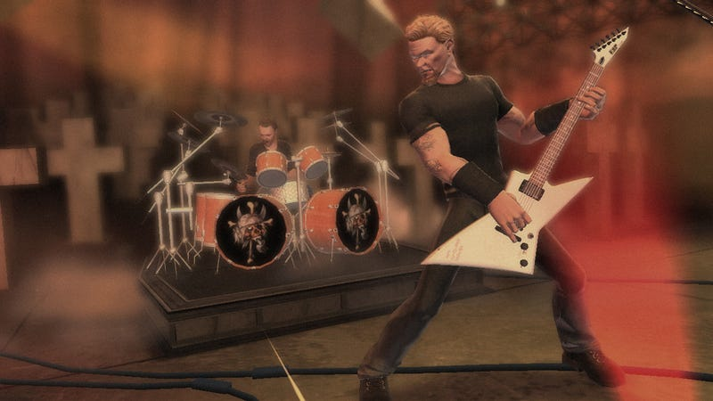 "Metallica's Hetfield: Games are ""Gateway Drug"" to Music"