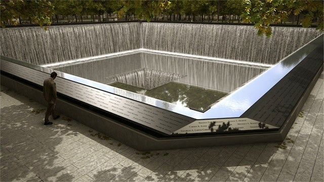 The Amazingly Touching Way the 9/11 Memorial Arranged the Names of the Victims Who Died