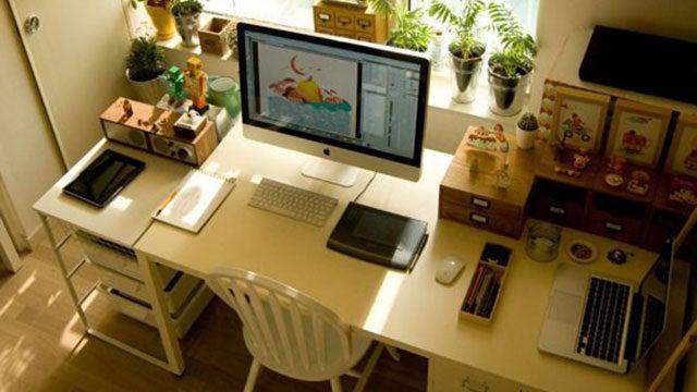 The Organized Illustrator's Workspace