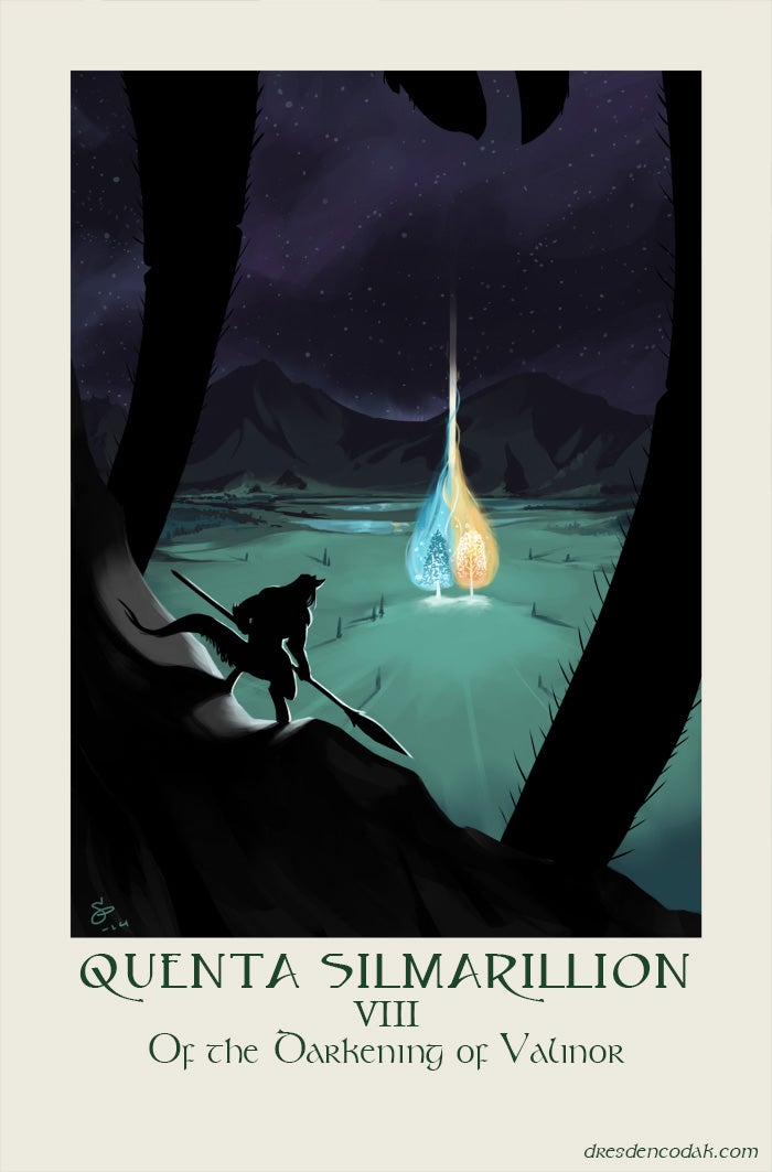 Dresden Codak creator illustrates each chapter of The Silmarillion