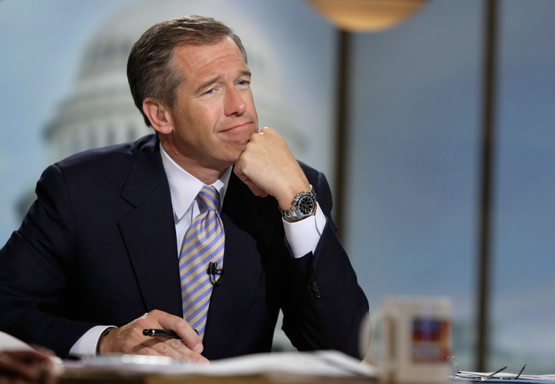 Brian Williams, Please Tell Us About Your 'Grindlingly Middle Class' Upbringing Again
