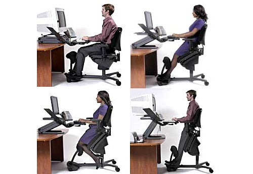 Stance Angle Chair: Park Your Ass Every Which Way You Want