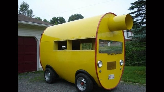 Jeep-Based Mufflermobile Is A Truly Bizarre Ebay Find