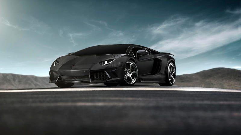 The Mansory Carbonado Is An Evil Carbon Fiber Lamborghini Aventador