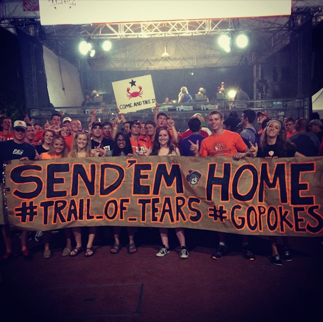 Here Are Two Of The Dumbest GameDay Signs You'll Ever See