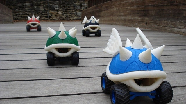 The Printable, Raceable R/C Koopa Shell