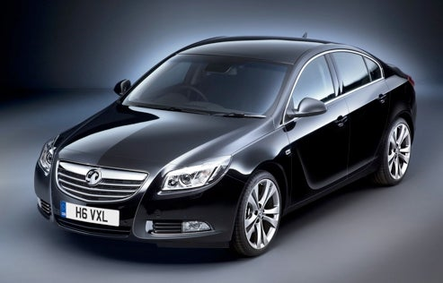 Vauxhall Insignia Sports Sign-Reading Camera