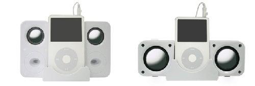 Green House Folding iPod Speakers