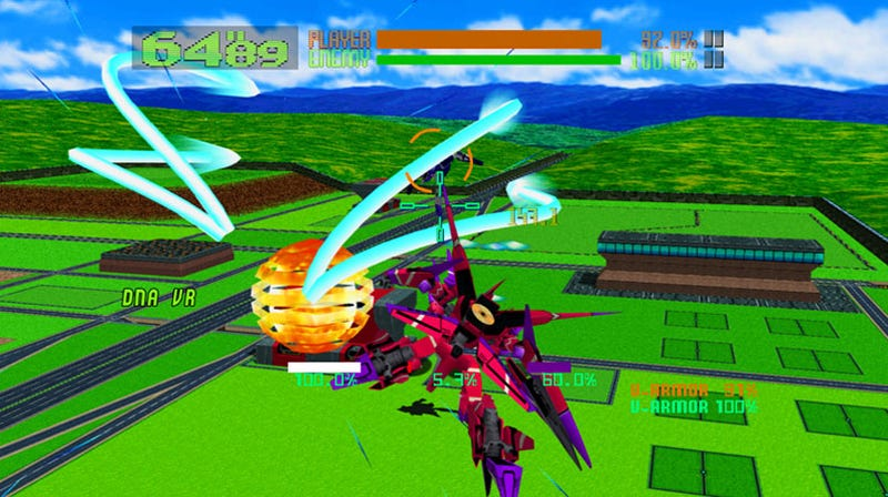 New Virtual On XBLA Screens Full Of Mechs Appeal