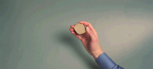 Super clever stop motion animation uses wood like you've never seen