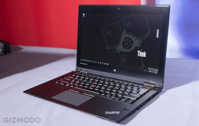 A Supercapacitor Stylus Is The Best Thing About Lenovo's New Laptops