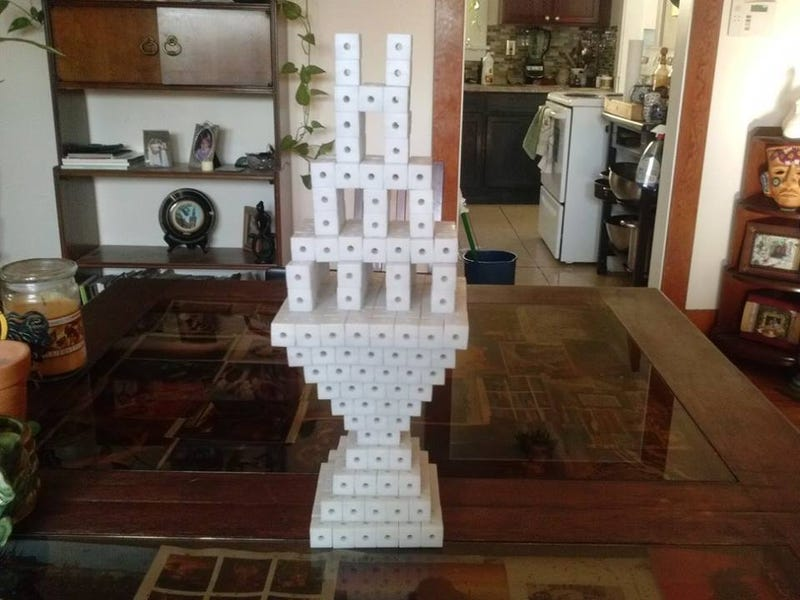 Minecraft Inspires Gamer To Create Awesome Real-Life Building Toy