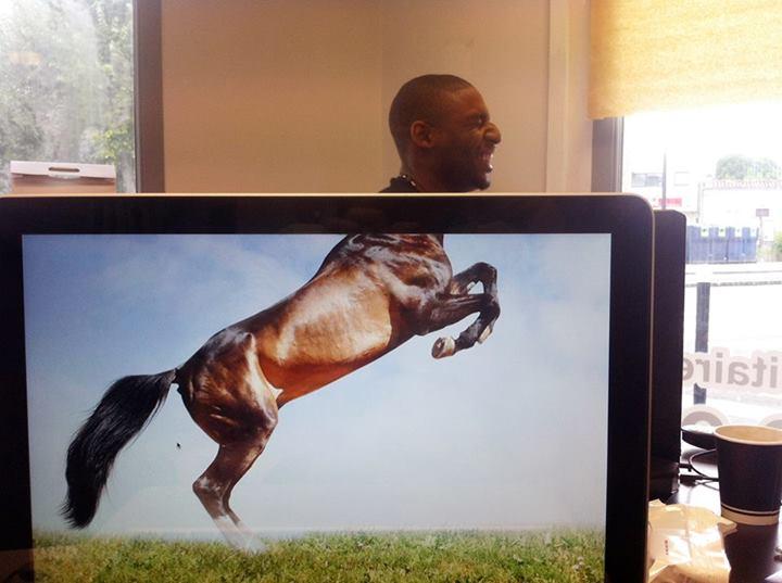 El safari de escritorio hace furor en bromas de oficina