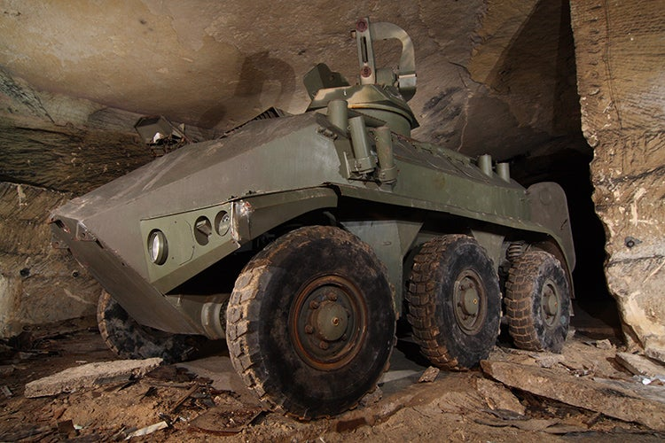 Secret Underground Bunker Is Full Of Decades-Old Weapons And Military Vehicles