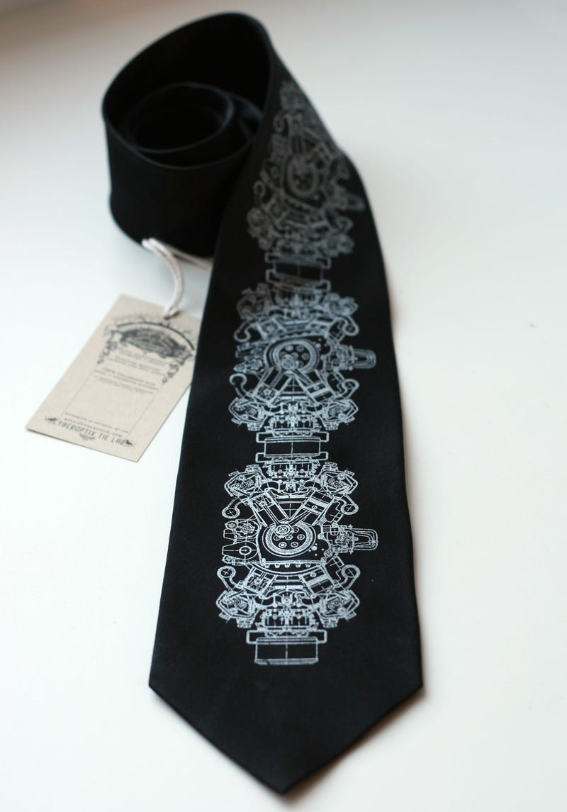 I don't often wear neckties....but I'm going to rock the hell out of this one